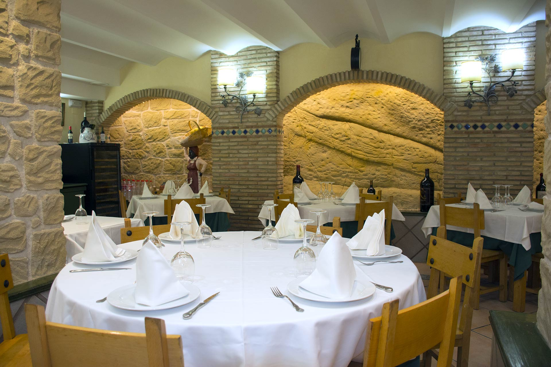 Comedor principal-Restaurante Vega