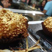 Pincho Ferrero Rocher XXL-Restaurante Vega